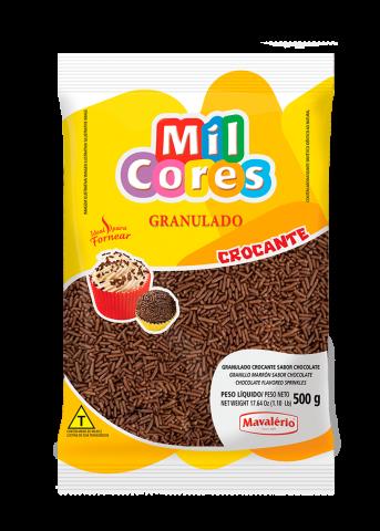 Granulado Crocante Mavalério sabor Chocolate 500g