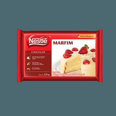 Chocolate Nestlé Marfim em barra 2,1kg