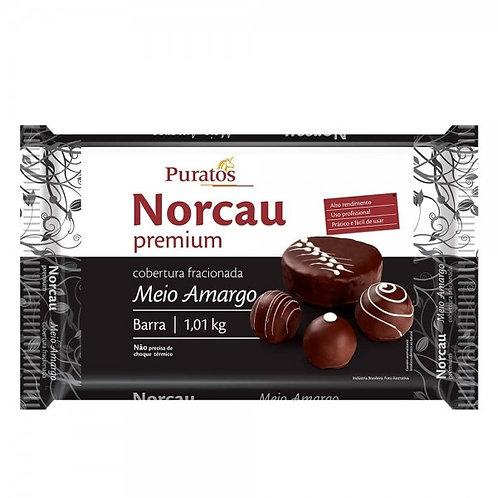 Cobertura Fracionada Chocolate Premium Meio Amargo - Barra 1,01kg PURATOS