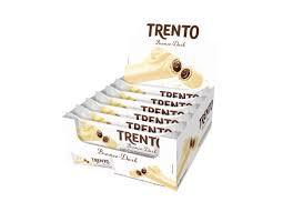 Display Wafer Trento Branco Dark com 16 embalagens Peccin