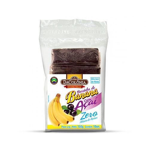 Mariola Banana com Açaí Da Colônia Zero Açúcar 150g