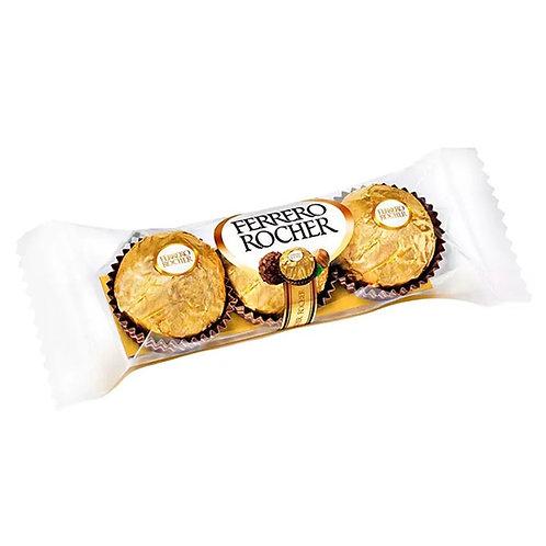 Chocolate Ferrero Rocher com 03 unidades