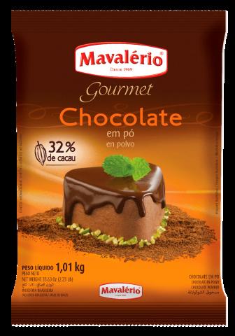 Chocolate em Pó 32% Cacau Mavalério 1kg