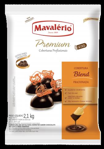 Cobertura Fracionada em Gotas Mavalério Premiun Blend 2,1kg