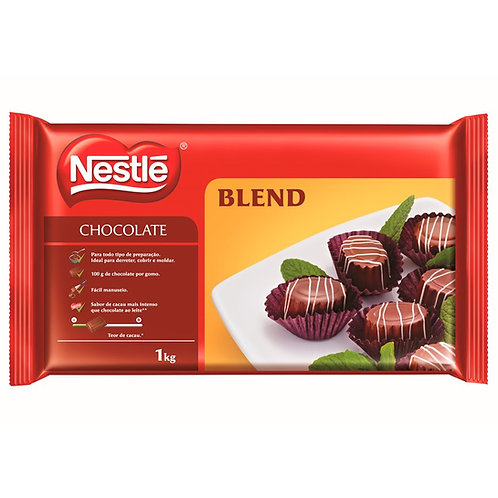 Chocolate Nestlé Blend em barra 1kg