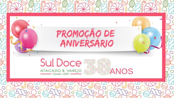 Sul Doce comemora 38 anos de história com promoção especial