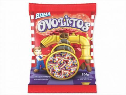 Ovolitos Chocolate Roma 300g