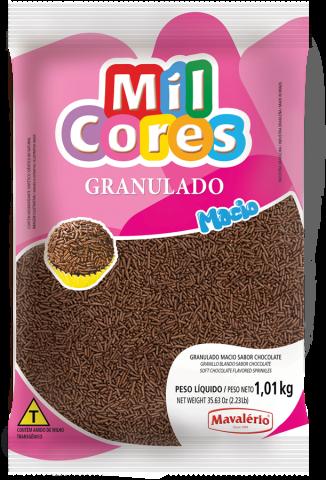 Granulado Macio Mavalério sabor Chocolate 1kg