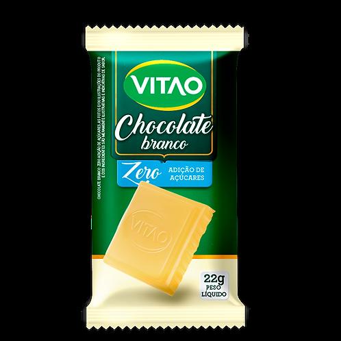 Chocolate Branco Zero Açúcar Vitao 22g