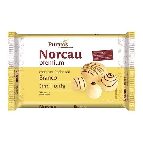 Cobertura Fracionada Chocolate Premium Branco - Barra 1,01kg PURATOS