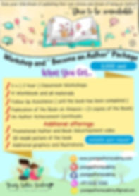 Young Author Academy - a4 flyer  option
