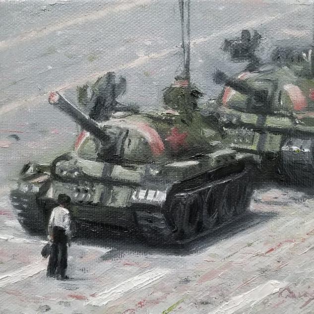 Tank Man (SOLD)