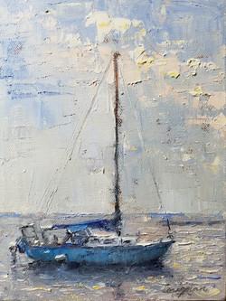 Little Blue Boat