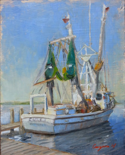 (SOLD) The Fishing Boat
