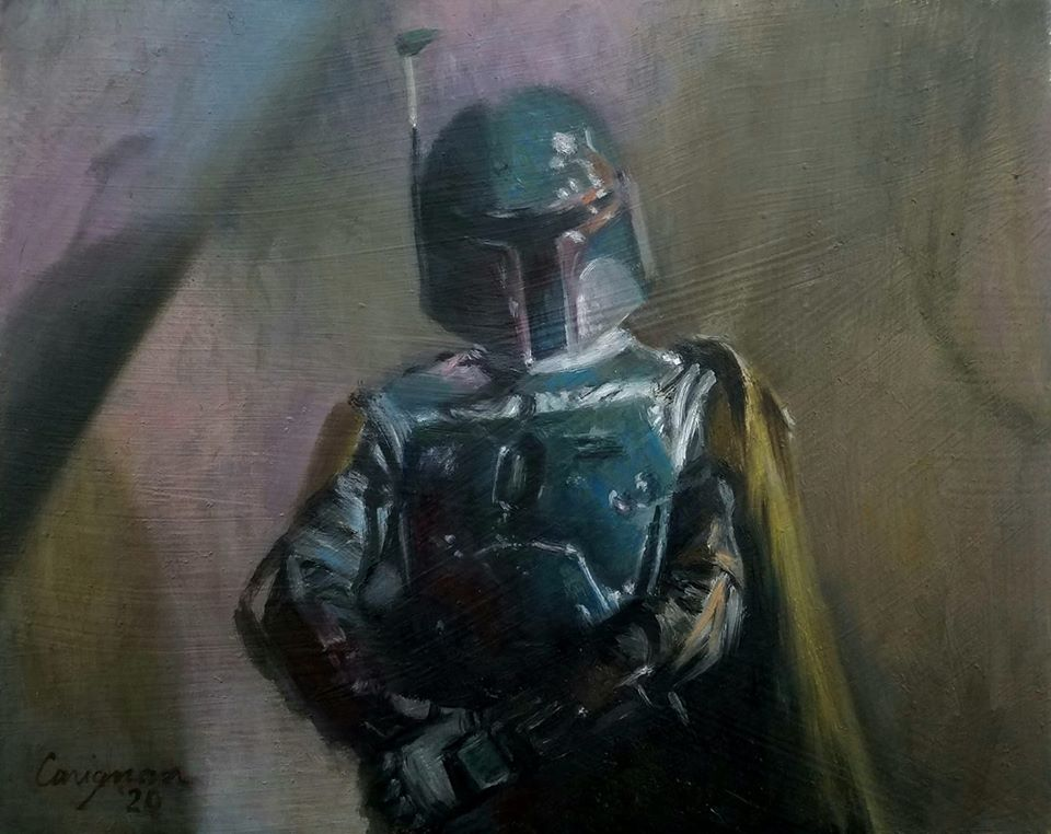 Boba Fett at Jabba's Palace (SOLD)
