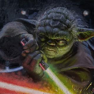 Yoda, Jedi Master (SOLD)