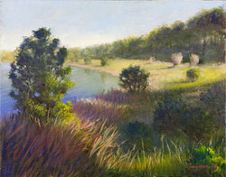 (SOLD) Late Afternoon at the Lake