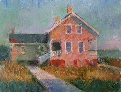 Cabin in Evening Light (SOLD)