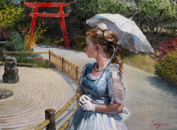 (SOLD)Lindsey in the Japanese Garden