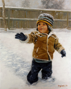 (SOLD) First Snow
