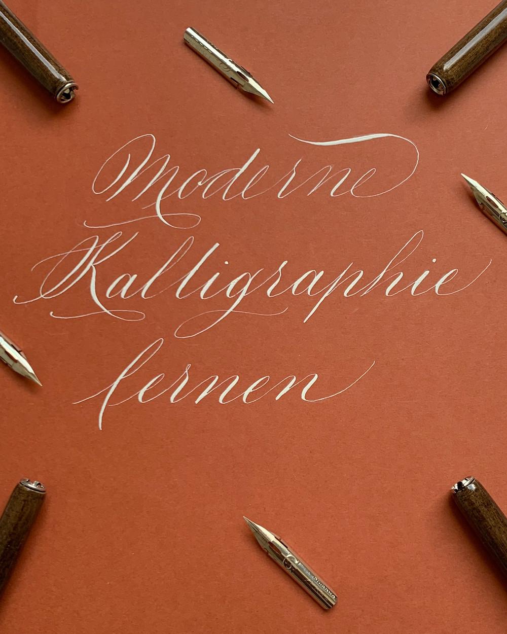 Moderne Kalligraphie lernen