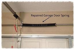 Garage door spring repair Castle Rock