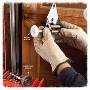Garage door roller repair Castle Rock