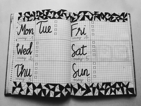 Coping Under Quarantine-Issue #2-Keeping a Schedule When It's Hard to Make Plans