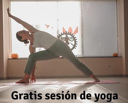 clase yoga gratis
