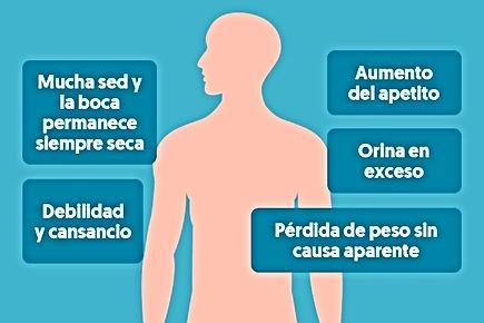diabetes, sintomas