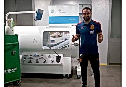 Dani Carvajal se recupera para el Muncial