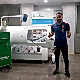 Carvajal se recupera de su lesión para el Mundial
