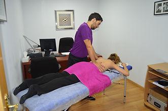 masaje en el trabajo
