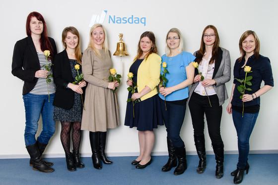 Naisinvestorite klubi börsikella helistamas