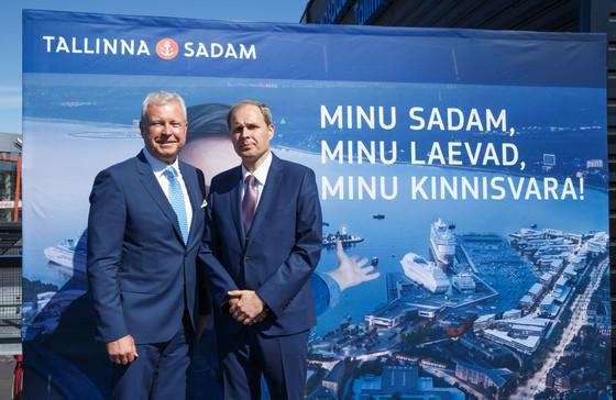 Tallinna Sadam: suurima aktsionäride arvuga ettevõte Baltikumis