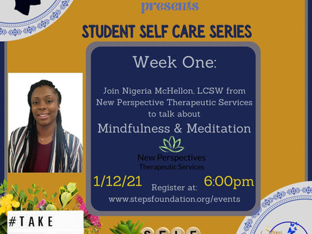 Student Self-Care Series