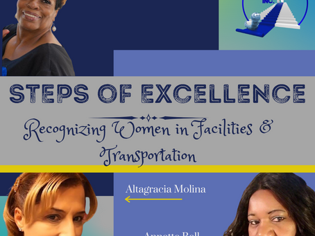 Steps of Excellence - Women in Facilities & Transportation
