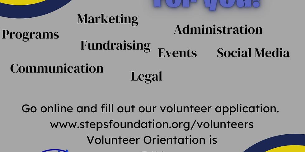 Volunteer Orientation/Training