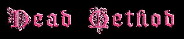 DEAD METHOD LOGO - pink glitter.png