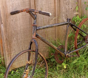 When the Stationary Bike saddle hurts...it hurts!