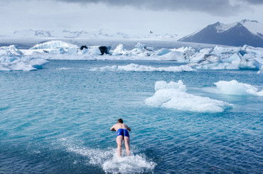 L'histoire derrière l'image - Islande, glaciers et baignade
