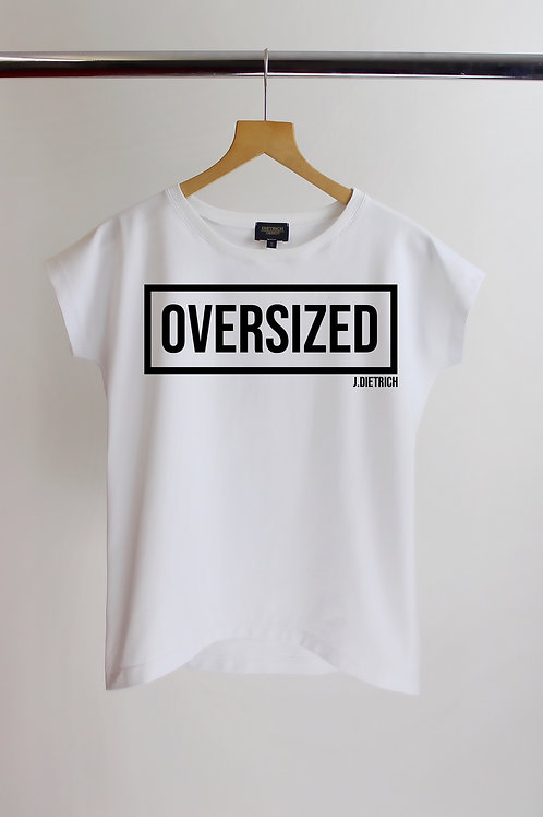 """Damen T-Shirt DD """"OVERSIZED"""""""