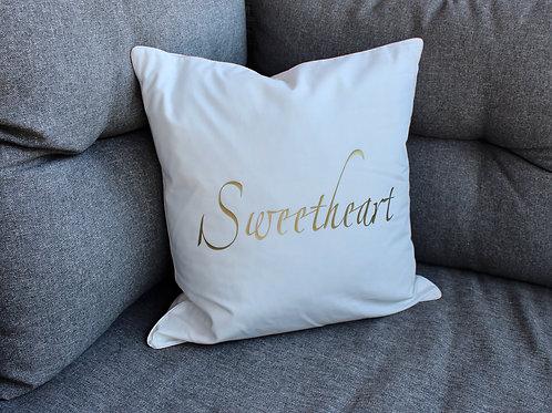 """Zirbenkissen Set """"sweetheart"""" 40cmx40cm"""