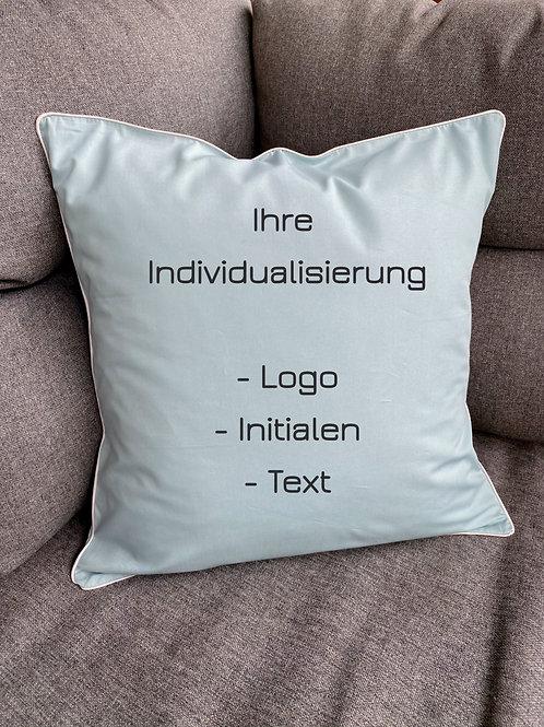 """Zirbenkissen Set """"Ihr Design"""" 40cmx40cm"""