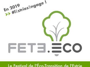 FETE.eco : Lancement du Festival de l'Éco-Transition de l'Estrie