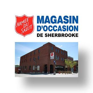 Magasin d'occasion de Sherbrooke de l'Armée du Salut