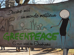 Le groupe local de Greenpeace Sherbrooke reprend du service!