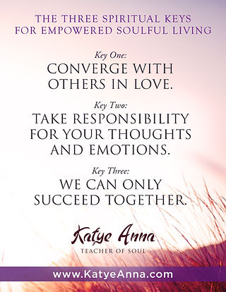 KatyeAnna  Three Spiritual Keys Poster.j