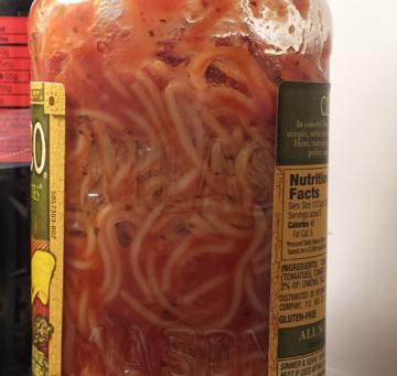 Great Idea: Spaghetti Storage