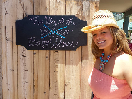 Cowgirl Up Baby Shower